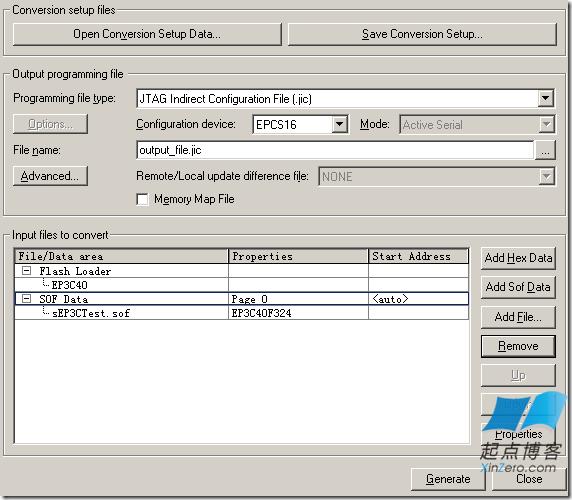 QuartusII.sof文件转换为.jic文件的几种方法