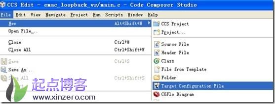 ccsv5新建target configuration File