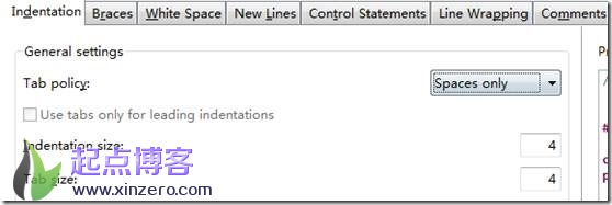 vivado SDK编辑器tab自动转换为空格