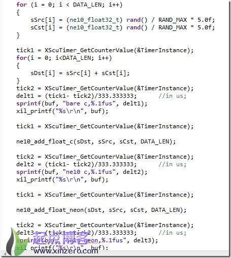 测试运算速度的代码实例