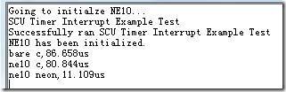 编译器设置选项全部默认情况下运行结果