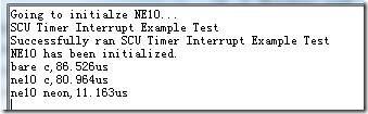 增加编译器关于neon优化的运算结果