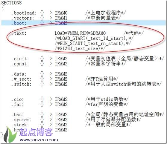 TI C6000 boot实现过程,SDRAM程序加载