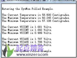 xilinx PL AXI访问xadc温度电压信息