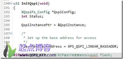 zynq无ddr在QSPI Flash下XIP模式设计_一阶段