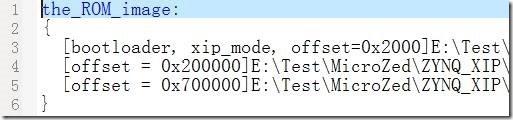 zynq无ddr在QSPI Flash下XIP模式设计_二阶段